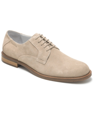 Calvin Klein Shoes, Astor Suede Oxfords Men's Shoes