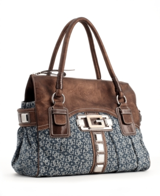 GUESS Handbag, Calgary Satchel, Large