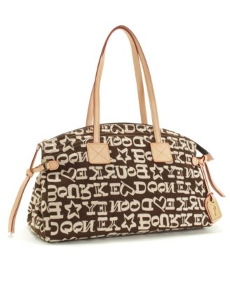 Dooney & Bourke Handbag, Sport Flock Carla Bag