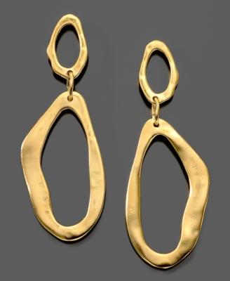 Gold Dangle Earrings - Kenneth Jay Lane