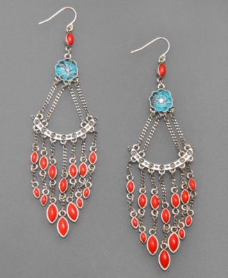 Lucky Brand Earrings, Chandelier - Chandelier Earrings
