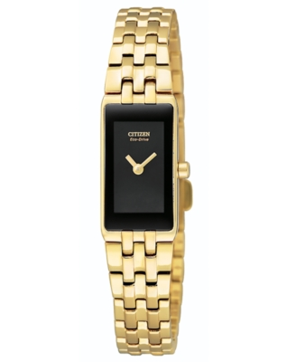 Citizen Watch, Women's Goldtone Stainless Steel Bracelet EG2702-52E