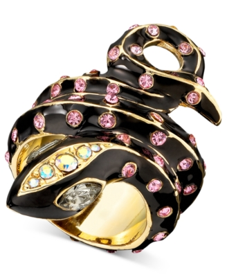 Betsey Johnson Ring, Snake