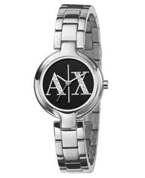AX Armani Exchange Watch, Women's Stainless Steel Bracelet AX4061