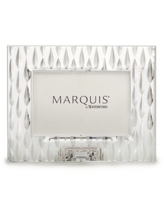 "Marquis by Waterford Picture Frame, Rainfall 4"" x 6"""