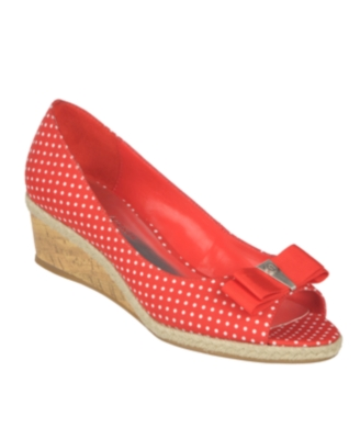 Etienne Aigner Shoes, Kambel Wedges Women's Shoes