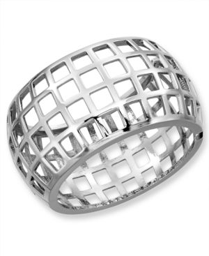 M. Haskell Bracelet, Caged Cuff Bangle