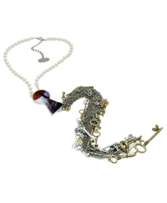 Disney Couture Necklace, Alice in Wonderland Key