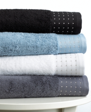 "bianca bath towels, lurex 13"" square washcloth"