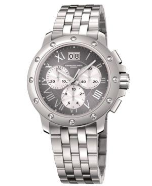 RAYMOND WEIL Watch, Men's Stainless Steel Bracelet 4899-ST-00668