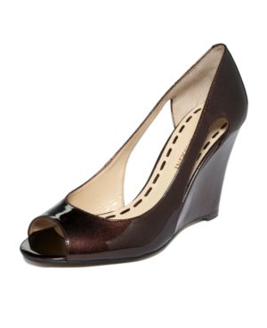 Enzo Angiolini Shoes, Pint Wedges Women's Shoes