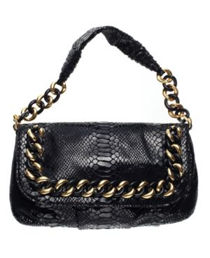 MICHAEL Michael Kors Handbag, ID Chain Flap Shoulder Bag, Small - Michael Kors