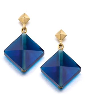 Kenneth Cole New York Earrings, Blue