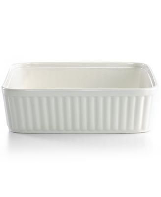 Martha Stewart Collection Whiteware Square Baker