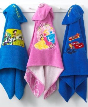 disney bath towels, disney cars hooded bath towel