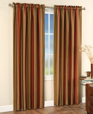 """CHF Peri Faux Silk Stripe 42"""" x 84"""" Panel"""