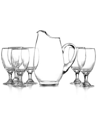 The Cellar Glassware, Iced Beverage 7 Piece Set