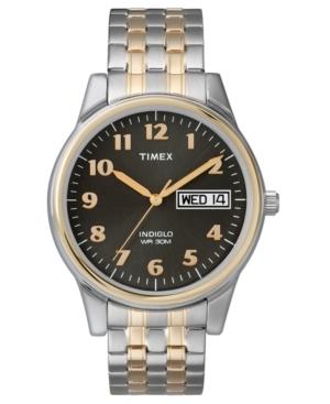Timex Watch, Men's Two-Tone Stainless Steel Bracelet T26481UM