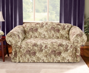 Sure Fit Slipcovers, Chloe Loveseat Cover Bedding