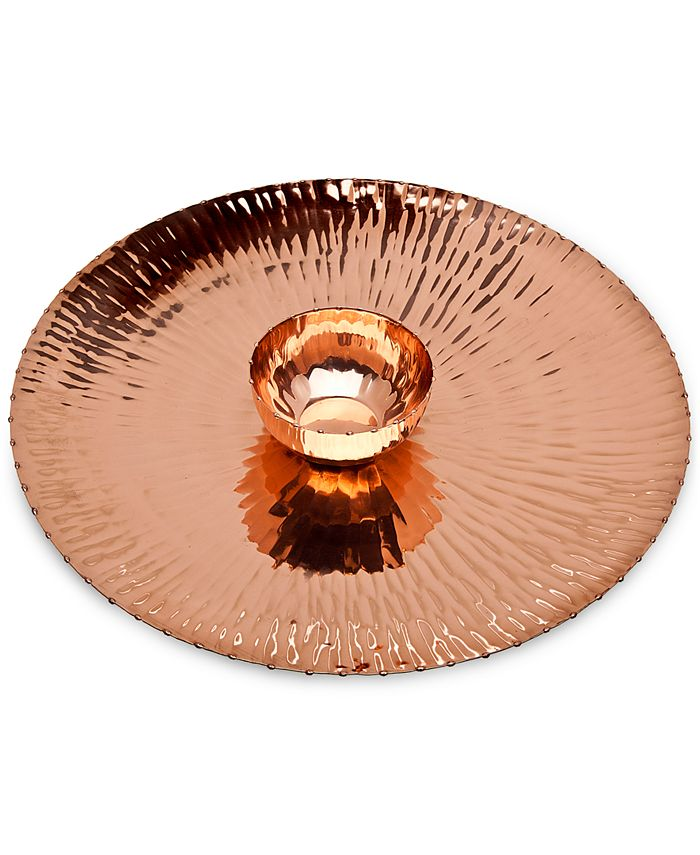 Godinger - Copper Chip & Dip Set