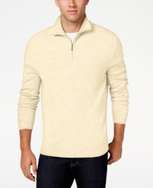 Men's Vintage Style Sweaters – 1920s to 1960s Weatherproof Vintage Mens Quarter-Zip Sweater $26.99 AT vintagedancer.com