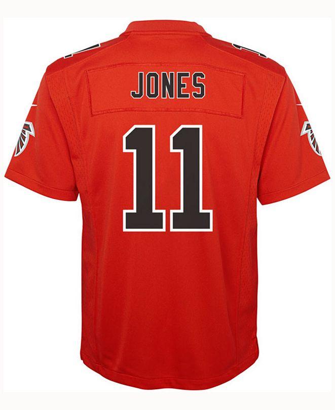 Nike Julio Jones Atlanta Falcons Color Rush Jersey, Big Boys (8-20)
