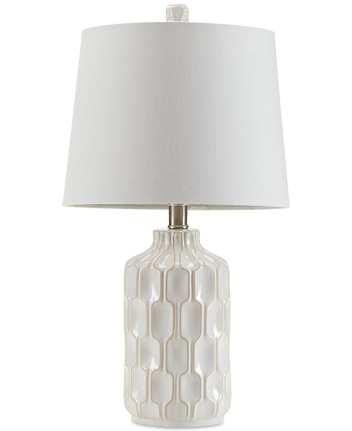 510 Design Ink Ivy Contour Ivory, Ivory Ceramic Table Lamps