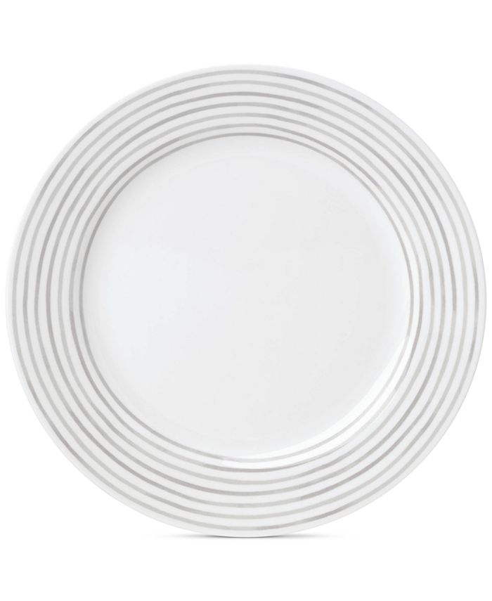 kate spade new york - Charlotte Street East Grey Collection Dinner Plate