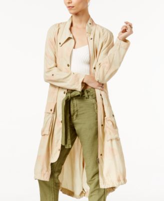 Free People Lightweight Utility Trench Coat