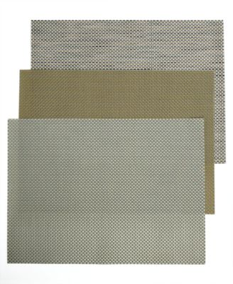 Chilewich Table Linens, Basketweave Woven Vinyl Placemat