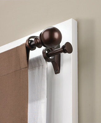 Umbra umbra erge double curtain rods bed in a bag bed amp bath