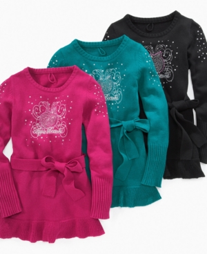 Apple Bottoms Sweater, Girls Ruffled Sweater