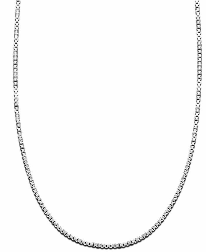 Giani Bernini - Sterling Silver Necklace, Box Chain