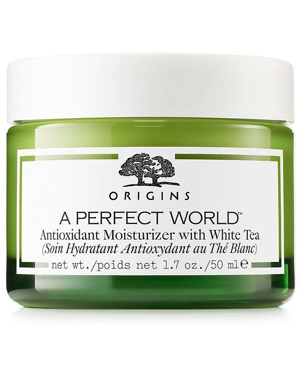 Origins A Perfect World Antioxidant Moisturizer with White Tea, 1.7 oz.