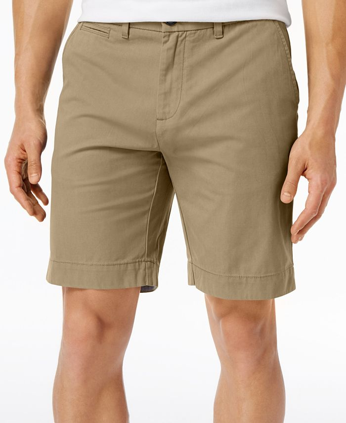 Tommy Hilfiger - Core Classic-Fit Flat Front Shorts