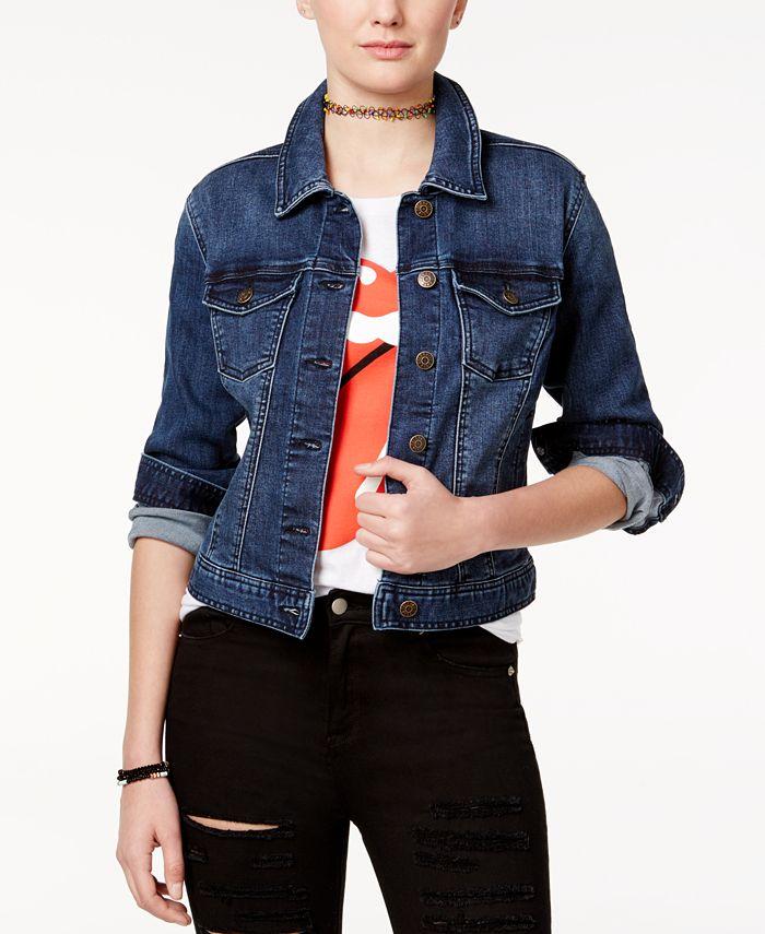 Celebrity Pink - Juniors' Classic Denim Jacket
