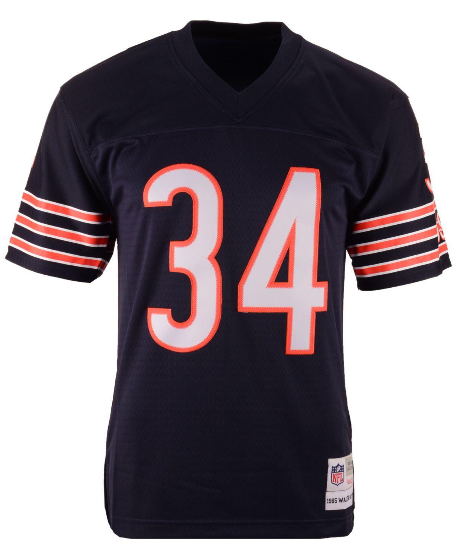 Mitchell & Ness Men's Walter Payton Chicago Bears Replica Throwback Jersey & Reviews - Sports Fan Shop By Lids - Men - Macy's