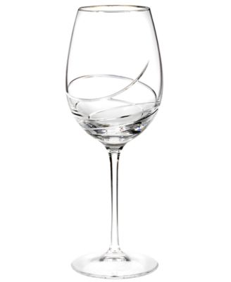 Waterford Stemware, Ballet Ribbon Essence Platinum Goblet