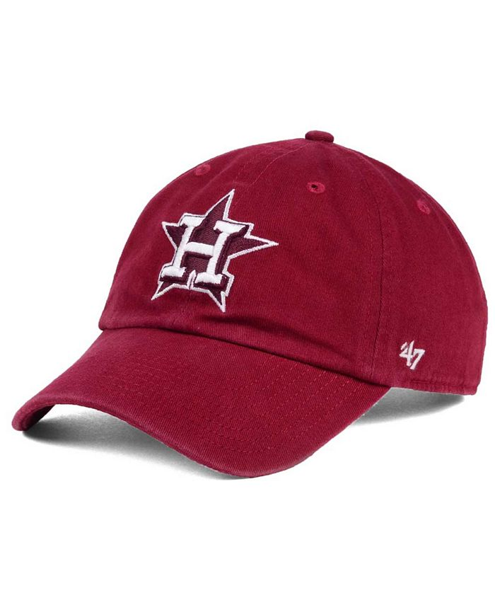 '47 Brand - Cardinal and White Clean Up Cap