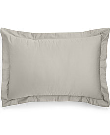 Charter Club Damask Cotton 550-Thread Count King Sham, Created for Macy's