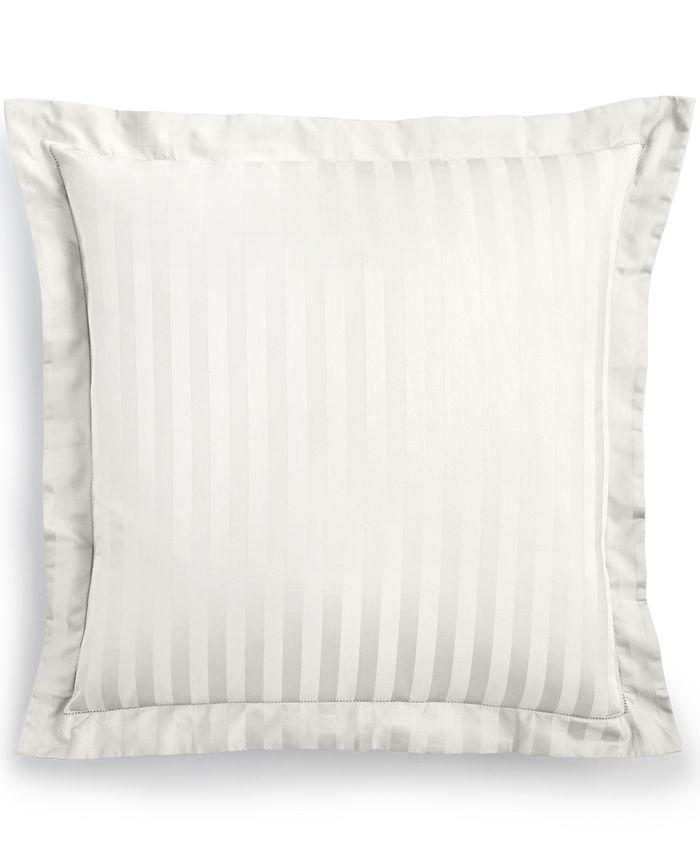 Charter Club - Damask Stripe Pima Cotton 300-Thread Count European Sham