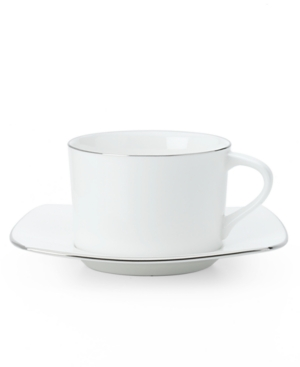 """Mikasa """"Couture Platinum"""" Breakfast Cup & Saucer"""