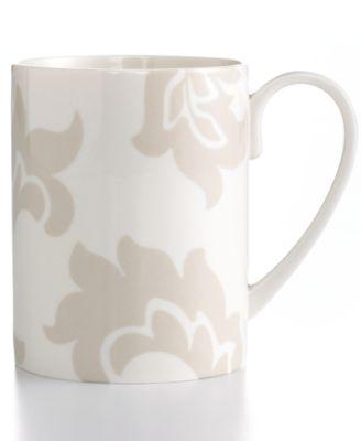 Martha Stewart Collection Lisbon Gray Mug