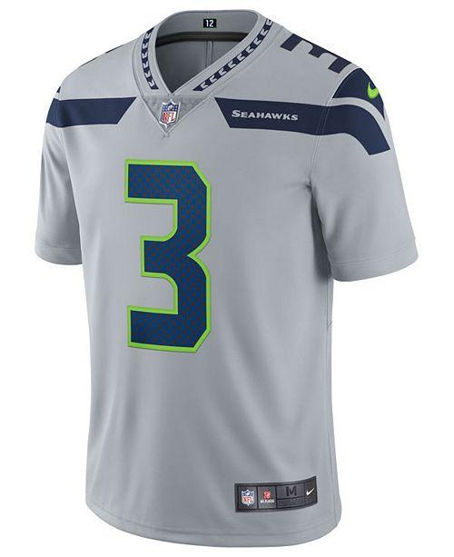 Nike Men S Russell Wilson Seattle Seahawks Vapor Untouchable Limited Jersey Reviews Sports Fan Shop By Lids Men Macy S