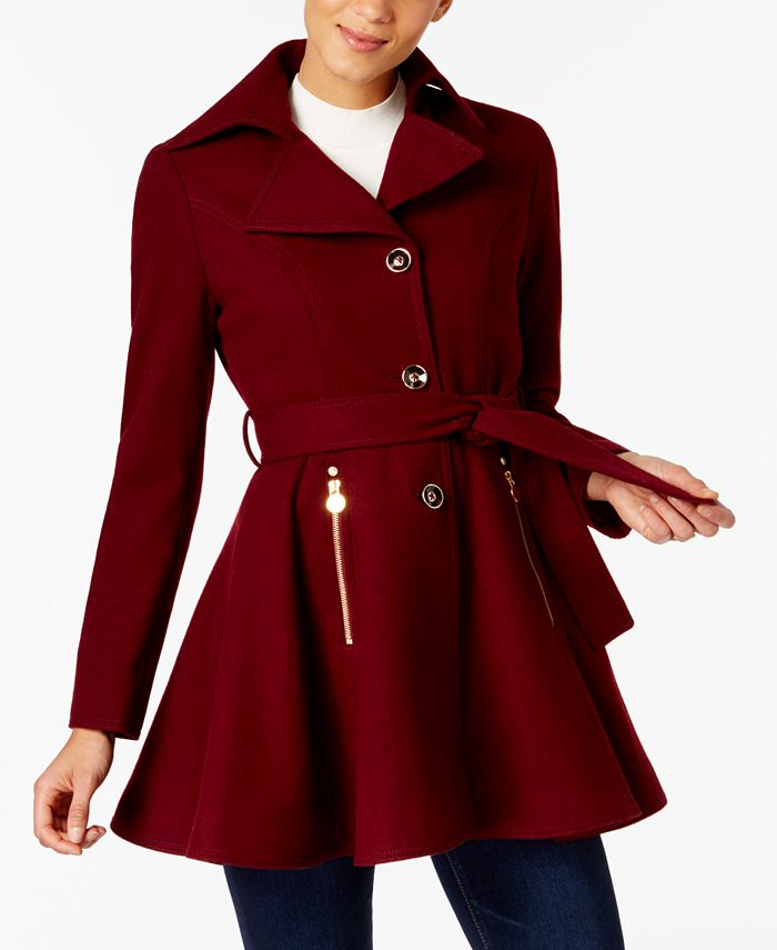 INC International Concepts - Skirted Peacoat