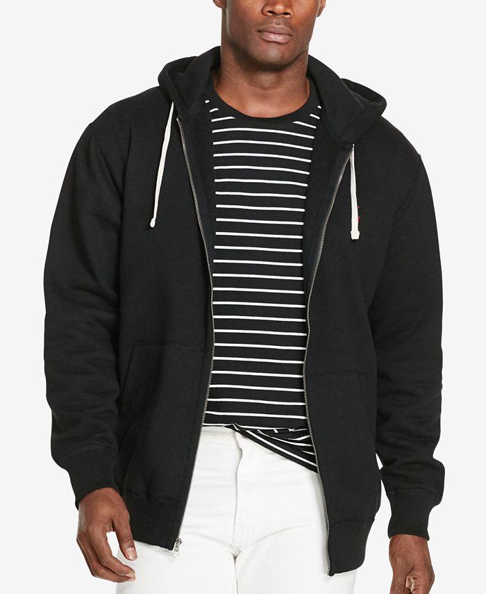 Men's Big & Tall Classic Fleece Full Zip Hoodie