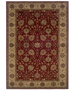 """MANUFACTURER'S CLOSEOUT! Sphinx Area Rug, Tribecca 73T Red 1'10"""" x 2'10"""""""