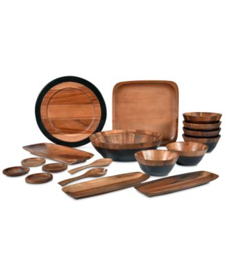 Serveware, Kona Wood Rectangular Platter