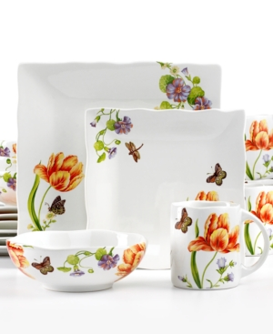 222 Fifth Dinnerware, Vivaldi 16 Piece Set