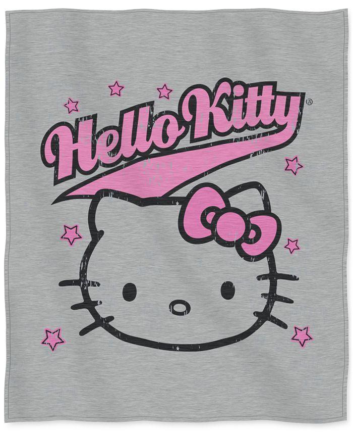 "Hello Kitty - 50"" x 60"" Sweatshirt Throw"